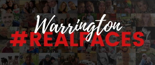 The Outset support Warrington RealFaces